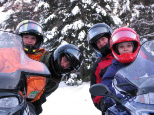 Snowmobiling Vacations in Vilas County