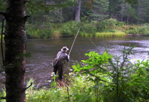 Fly Fishing in Northern Wisconsin