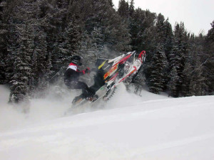 Northern Wisconsin Snowmobiling in Phelps