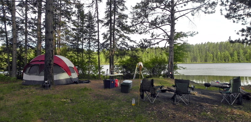 Northern Wisconsin Camping