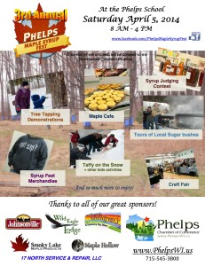 Phelps Maple Syrup Fest 2014