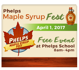 Save the Date for the 6th Annual Phelps Maple Syrup Fest
