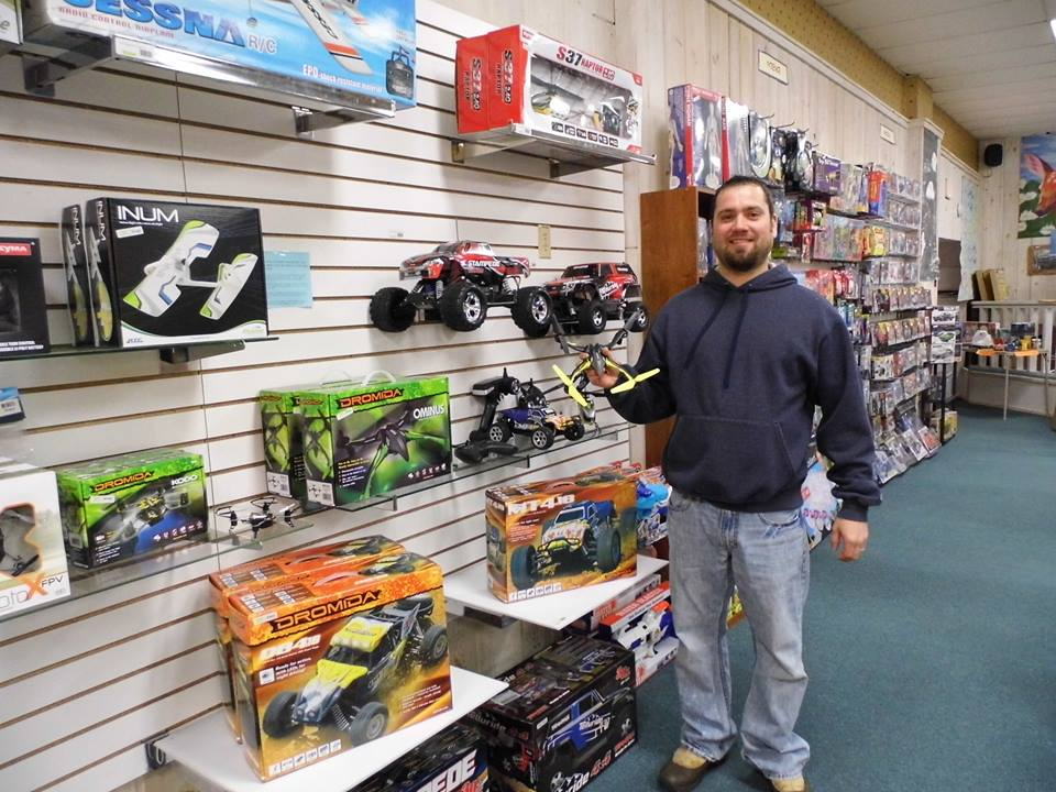 Remote Control Toy Demos in Phelps