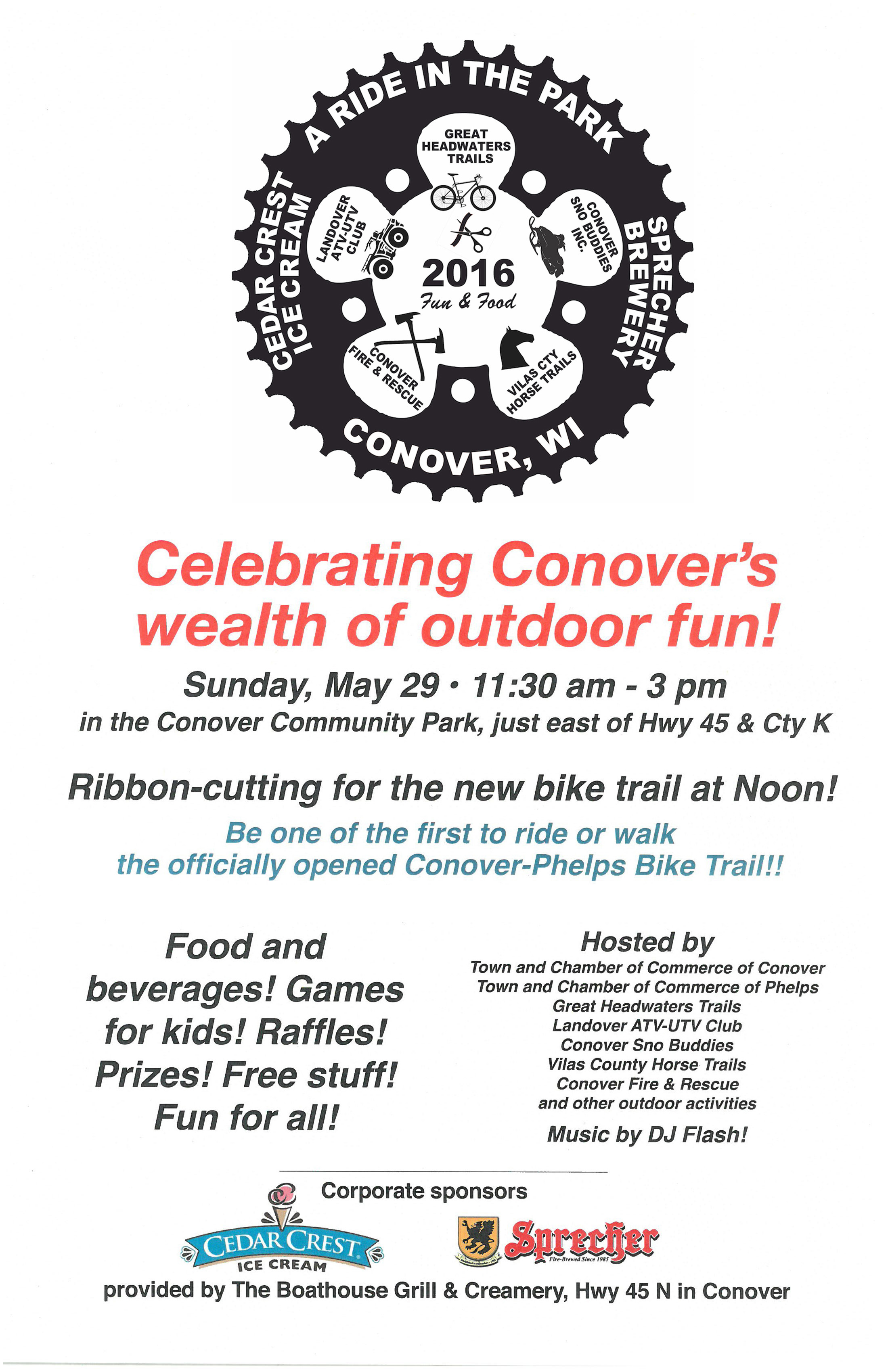A Ride in the Park – Celebrating our Northwoods Trails!