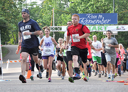 Nicolet College Foundation Hosts 4th Annual Run to Remember in Rhinelander