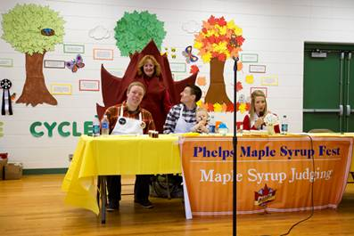 Syrup judging contest
