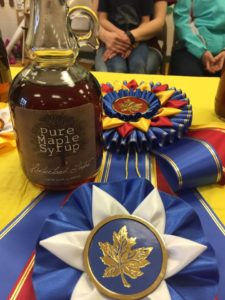 maple syrup judging winner