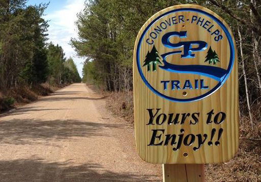 Biking Trail Sign