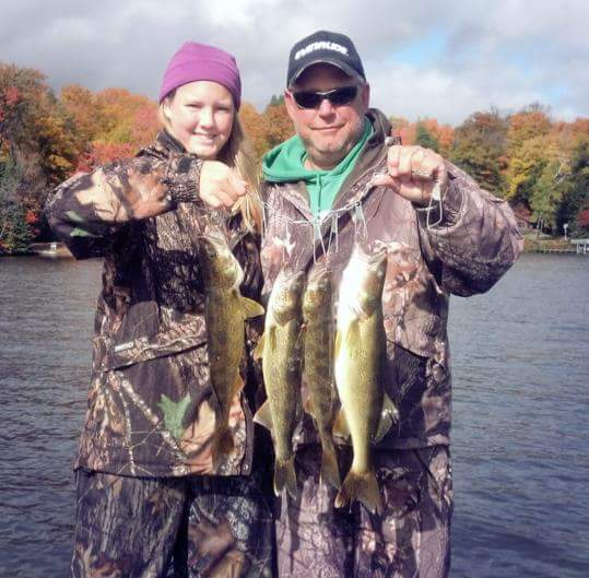 Local fishing report phelps wi northwoods fishing for Local fishing reports