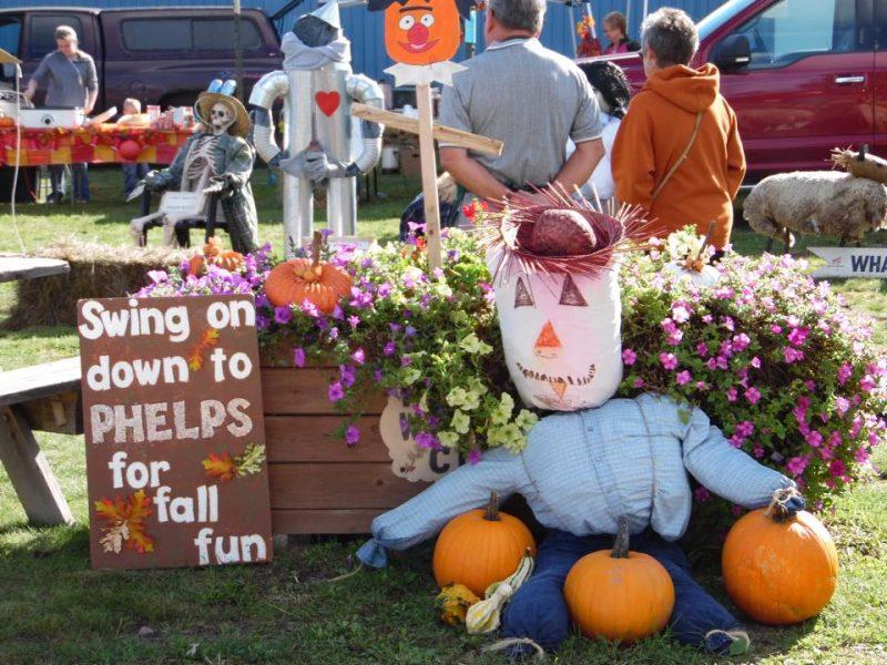 Phelps Scarecrow Fest