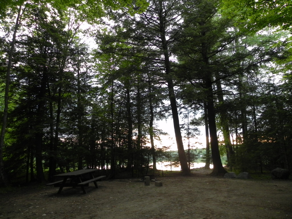 Phelps boasts of serene, secluded campsites, right on the lake!