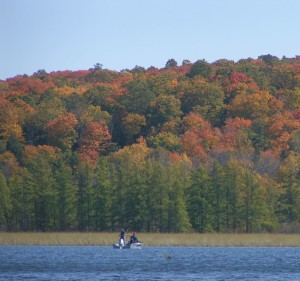 Northwoods fall fishing