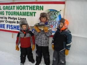 Kids Ice Fishing Fun