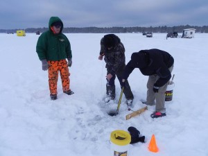Ice Fishing in Phelps