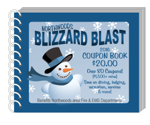2016 Blizzard Blast Coupon Books For Sale