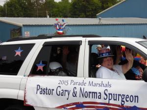 4th of July Parade Marshals 2015