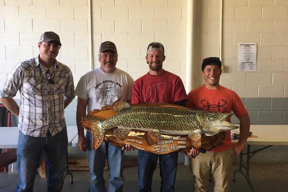 37th Annual Midwest Musky Classic Results