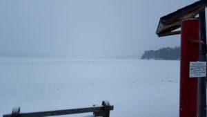 Ice Fishing on North Twin Lake