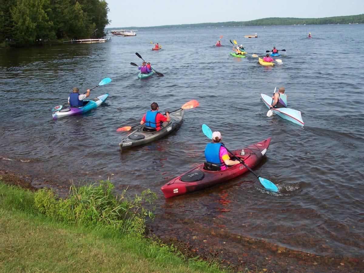Triathlon Paddle Segment