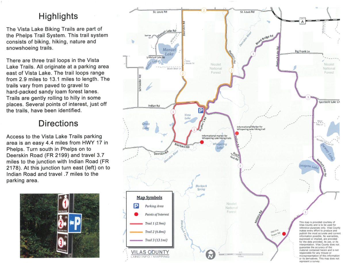 Biking Trails Map