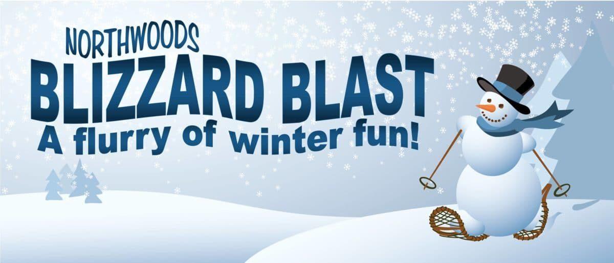 Northwoods Blizzard Blast Banner