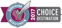 Discover Wisconsin 2017 Choice Travel Destination logo