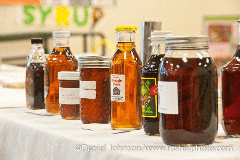 Maple Syrup Judging Contest