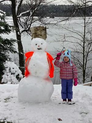 Northwoods Blizzard Blast Snowman Contest